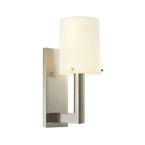 Calmo 4-Inch Satin Nickel Sconce