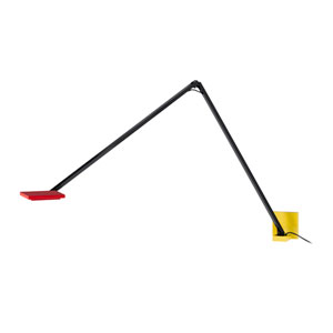 Quattro Red, Yellow and Black LED Wall Sconce