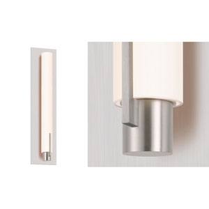 Tubo Slim Polished Chrome LED 4.75-Inch Spine Trim Wall Sconce