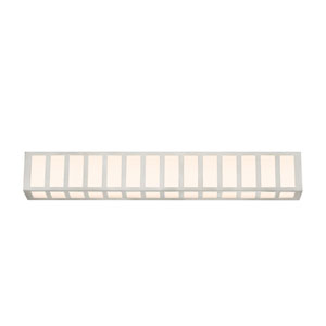 Capital Satin Nickel LED 35-Inch Bath Fixture Strip