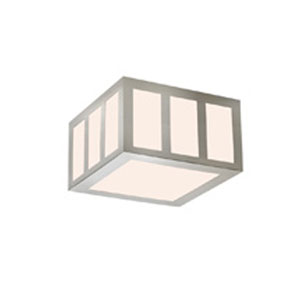 Capital Satin Nickel LED 8-Inch Square Flush Mount