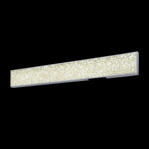 Dazzle Polished Chrome LED Bath Bar