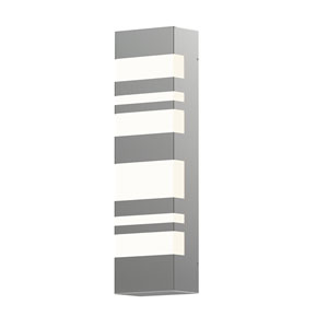 Bath Notes Satin Stainless Steel 18-Inch LED Bath Bar