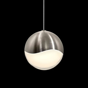 Grapes Satin Nickel LED Pendant