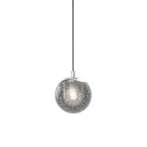 Champagne Bubbles Polished Chrome LED Mini Pendant