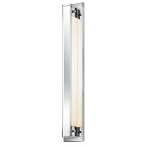 Accanto 28 Inch One-Light - Polished Chrome with Clear Glass - Wall Sconce