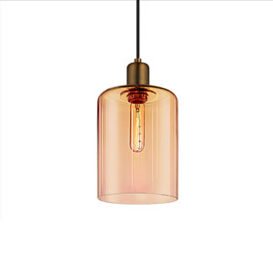 Cloche Retro Brass 1-Light Pendant