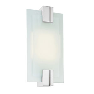 Dakota Polished Nickel Two-Light Flush Mount