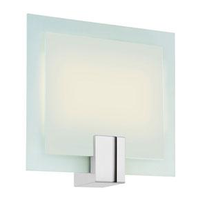 Dakota Polished Nickel Two-Light Wall Sconce