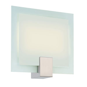 Dakota Satin Nickel Two-Light Wall Sconce