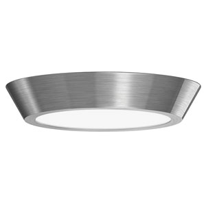 Oculus Satin Nickel 16-Inch LED Flush Mount