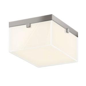 Parallel Satin Nickel LED 8.5-Inch Flush Mount