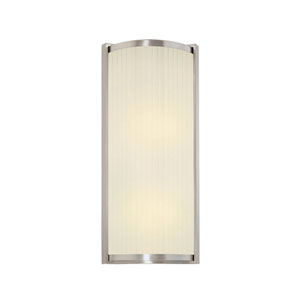 Roxy Large Satin Nickel Wall Sconce