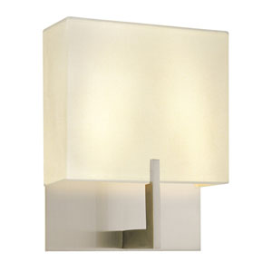 Staffa Satin Nickel Two-Light Wall Sconce
