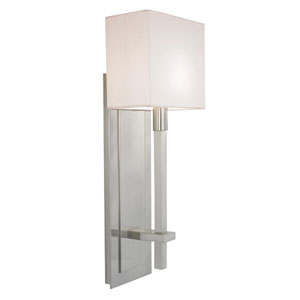 Montana Satin Nickel One-Light Wall Sconce
