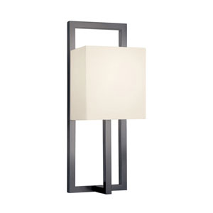 Linea Black Bronze One-Light Wall Sconce