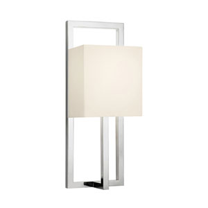 Linea Polished Nickel One-Light Wall Sconce
