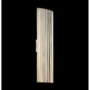 Paramount Two-Light  - Polished Nickel with Polished Nickel Metal Shade - Wall Sconce