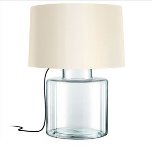 Grasso Clear 1-Light Table Lamp