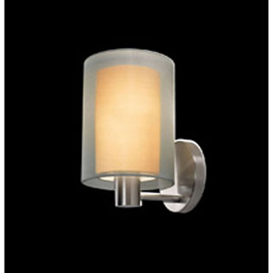 Puri Satin Nickel One-Light Wall Sconce