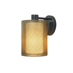 Puri Black Brass One-Light Wall Sconce