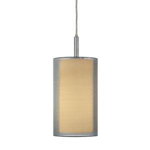 Puri Satin Nickel One-Light Mini Pendant