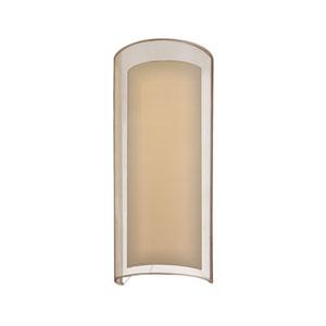 Puri Black Brass One-Light Wall Sconce