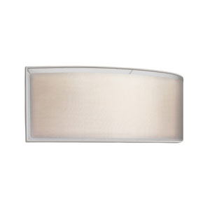 Puri Satin Nickel Two-Light Wall Sconce