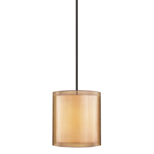 Puri Black Brass Three-Light Mini Pendant