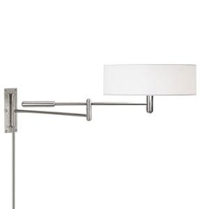 Perno Polished Nickel Adjustable Pin-Up Wall Lamp
