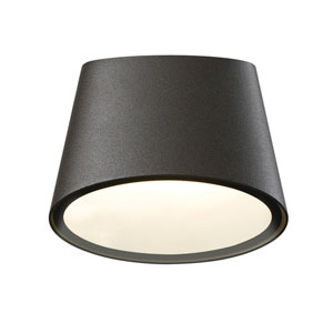 Elips LED Textured Bronze 1-Light Outdoor Wall Sconce