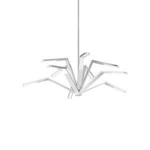 Aragon Satin Nickel LED Chandelier