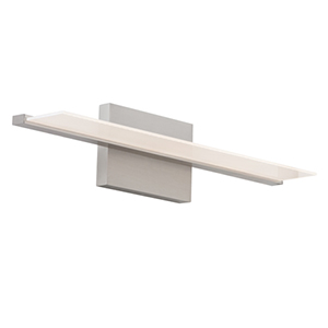 Span Satin Nickel 24-Inch 1300 Lumens LED Bath Bar