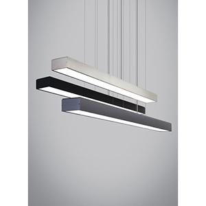 Knox Satin Nickel LED Linear Suspension Pendant
