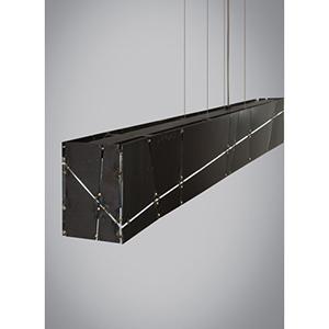 Crossroads Steel LED Linear Suspension Pendant