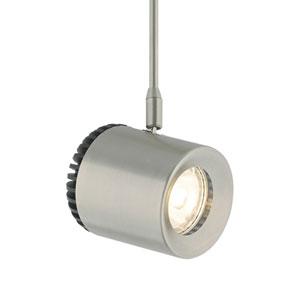 Burk Satin Nickel 35° Three-Inch 3000 Kelvin LED Low-Voltage Head Monopoint