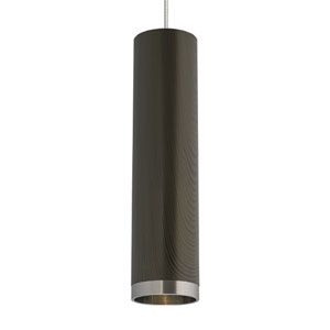 Dobson Brown Chestnut One-Light Low-Voltage Mini-Pendant