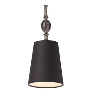 Kiev Black One-Light Low-Voltage Mini-Pendant