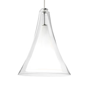 Melrose II Clear One-Light Low-Voltage Mini-Pendant