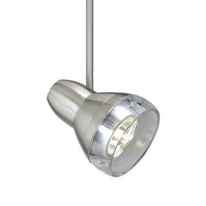 Mini Om Satin Nickel 12-Inch One-Light Low-Voltage Head Monopoint