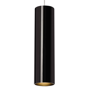 Piper Black One-Light Low-Voltage Mini-Pendant