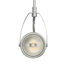 Sportster Satin Nickel 12-Inch One-Light Low-Voltage Head Monopoint