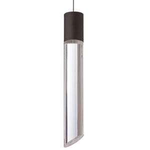 Tibor Black LED Low-Voltage Mini-Pendant