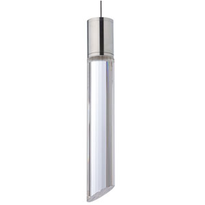 Tibor Satin Nickel LED Low-Voltage Mini-Pendant