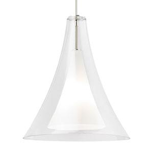Melrose Grande Clear Glass One-Light Line-Voltage Pendant