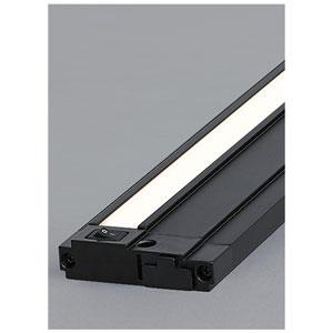 Unilume Black 30-Inch Length 3000K LED Slimline Under Cabinet Light