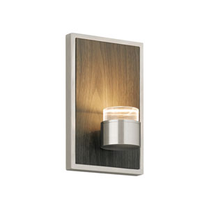 Dobson Weathered Gray Oak LED Wall Sconce