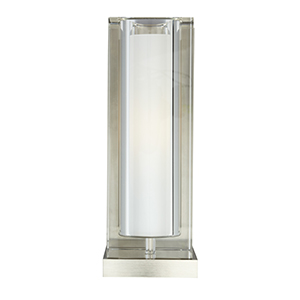 Jayden Satin Nickel One-Light Fluorescent Wall Sconce