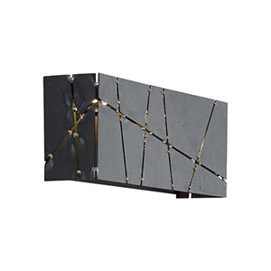 Crossroads Steel LED Wall Sconce