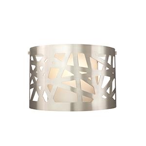 Ventana Satin Nickel One-Light Wall Sconce